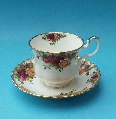 Royal Albert Old Country Roses Large Breakfast Cup And Saucer