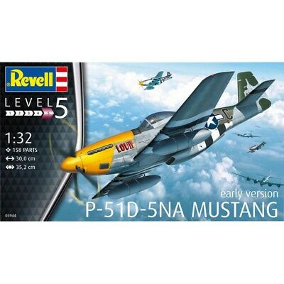 1/32 Revell Germany P-51D-5NA Mustang Early Version #REV3944