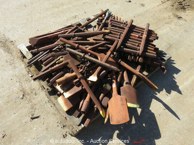 Large Lot of Pneumatic Air Hammer Chisel Breaker Bits Points Chisels bidadoo