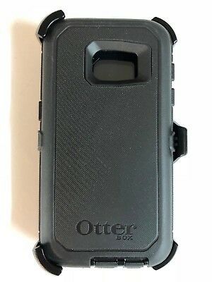 OtterBox Defender Case w/Holster Belt Clip For Samsung Galaxy S7 Black