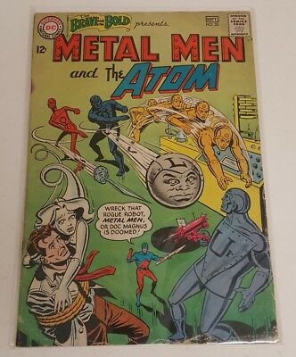 Brave And Bold #55 Vg (Dc Comics) Silver Age/ Metal Men & The Atom