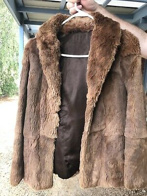 Genuine Vintage 1960s Fox Fur Jacket