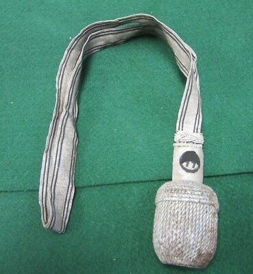 Wwii Third Reich Period German Officer's Sword Portepee With Rzm Tag