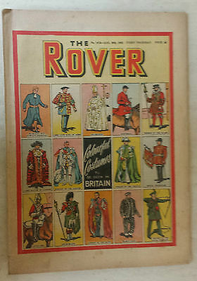 Comic- THE ROVER, NO 1418, 30th August 1952