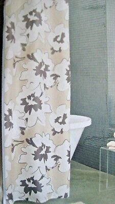 Flourish Apt 9 Floral Fabric Shower Curtain