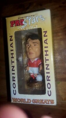corinthian WORLD GREATS - VAN BASTEN - HOLLAND box. SIGNED by VAN BASTEN