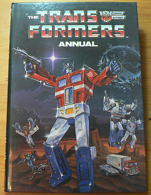 Generation 1 Transformers Annual 1987 by Marvel UK