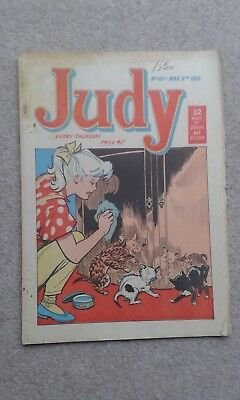 Vintage JUDY Comic - 165 March 9th 1963 Very good condition