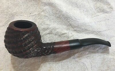 Danbark rusticated, swirl bowl estate tobacco pipe