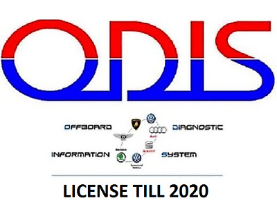 Odis S 4.2.3 For VAS With All VAG Cars, Preactivated till 2020, Easy To Install