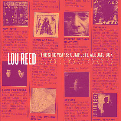 Sire Years: Complete Albums Box - 10 DISC SET - Lou Reed (2015, CD NUOVO)