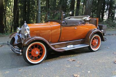 1929 Ford Model A Roadster. Restored. EXCELLENT! See VIDEO. 1929 Ford Model A Roadster. Restored. EXCELLENT! See VIDEO.