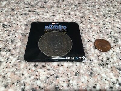 Marvel Black Panther Exclusive COIN Opening Night Fan Event AMC Theatres RARE