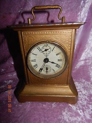 Vintage Antique Clock with Music Box