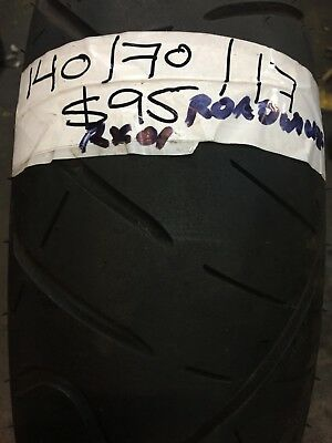 140/70 x 17  - ROAD WINNER RX01 - TYRE - GOOD CONDITION APPROX 80% TREAD - USED