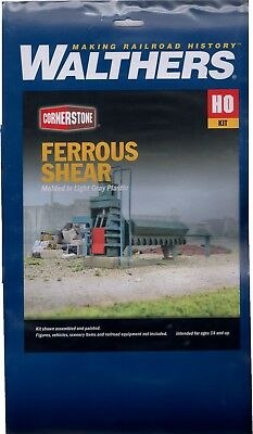 HO Scale Walthers Cornerstone 933-3630 Ferrous Scrap Shear Kit