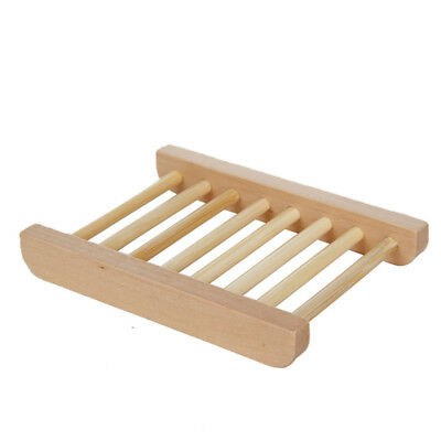Bamboo Soap Holder Dish Bathroom Shower Plate Stand Storage Wood Box Natural WL  sc 1 st  PicClick CA & BAMBOO SOAP Holder Dish Bathroom Shower Plate Stand Storage Wood Box ...
