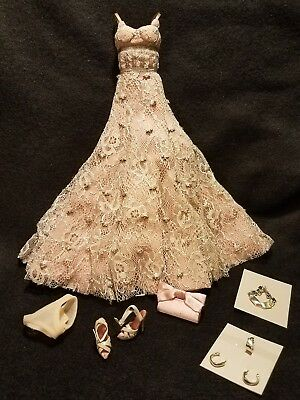 Fashion Royalty Love Life Lace Agnes - Complete Outfit dress jewelry new