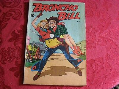 Bronco Bill # 8  Good + Good girl cover and inside