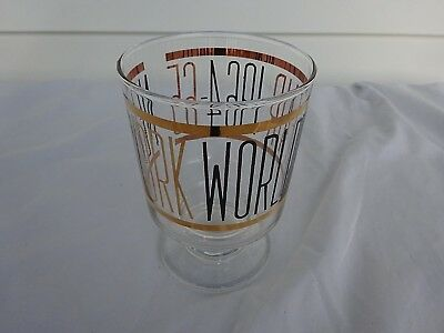 New York Worlds Fair 1964-1965 Collectable Glass