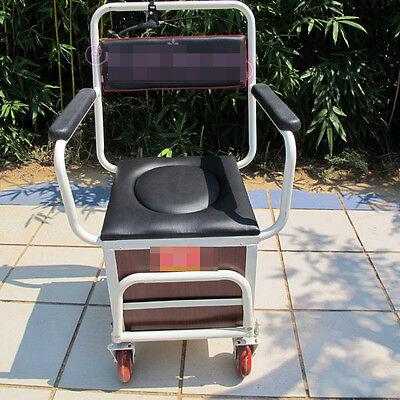White 4 Wheels Convenient Foldable Shopping Luggage Trolleys With Seat #!