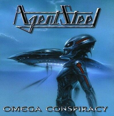 Agent Steel - Omega Conspiracy (CD Used Like New)