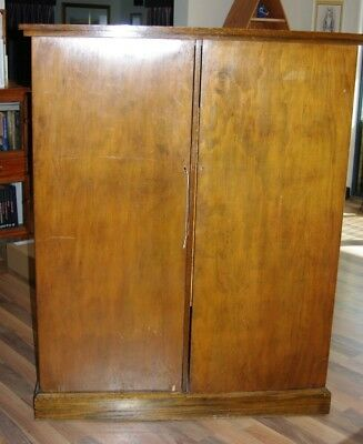 Timber Gentleman's Wardrobe Cupboard - Pick up Pakenham