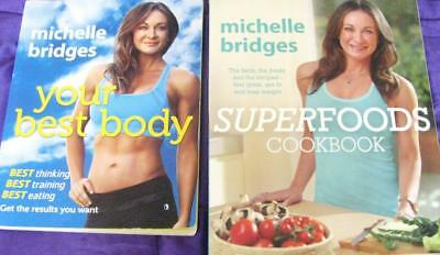 Superfoods Cookbook Michelle Bridges + Your Best Body Weight Loss & Fitness