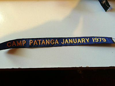 Girl Guides / Scouts Camp Patanga January 1979