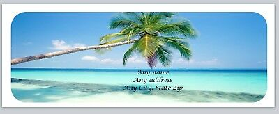 Personalized address labels Beach Buy 3 get 1 free (xco 783)
