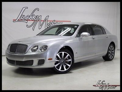 2012 Bentley Continental Flying Spur Flying Spur Sedan 4-Door 2012 Bentley Continental Flying Spur Series 51 Pkg Picnic Tables Rear View Cam