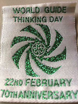 Girl Guides / Scouts Thinking Day 70th anniversary