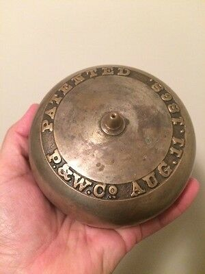 Antique Bell Alarm - School or Fire Department - P&W Co