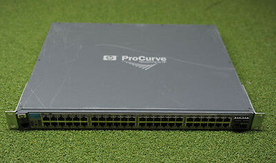 HP ProCurve 2910al-48G 48 Port Gigabit Switch 1 x J9147A w/ 10GbE module J9165A