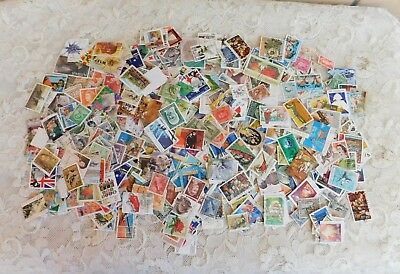 1200 Bulk Australian Decimal And Predecimal Used Stamps