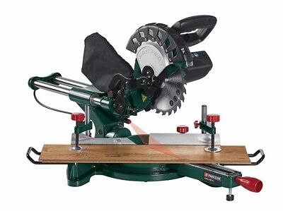 Parkside Mitre Saw, 210mm Sliding Cross Cut Compound Mitre Saw  , 1500 W , NEW