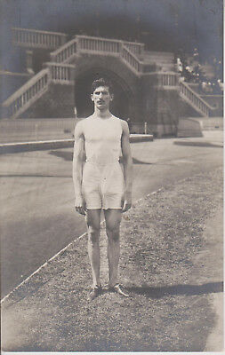 Olympiade 1912 Stockholm, C. Tsiclitiras, Greece, winner of the standing jump