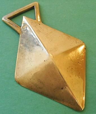 *an Antique Solid Faceted Diamond ~ Horse Brass*