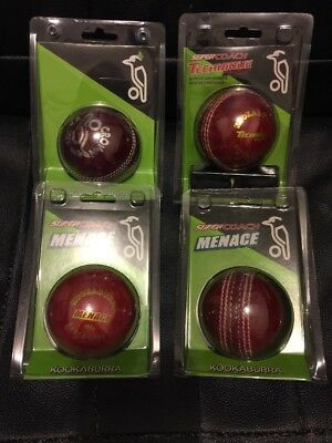 Bulk Kookaburra Cricket Balls Super Coach Crown X4 NIP