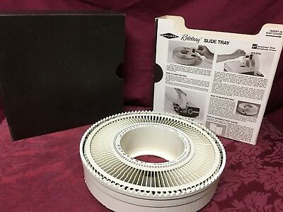 Vintage Sawyer's Rotary Carousel Slide Tray 100 Slide Tray With Original Box