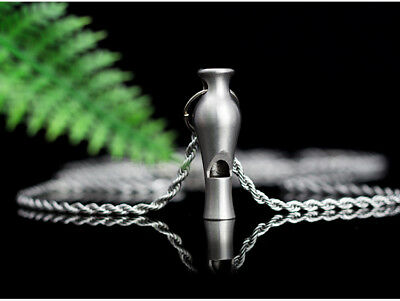 D13 1X Outside Camping Survival Rescue Metal Safe Emergency Whistle Referee M