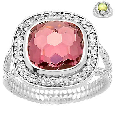925 sterling SILVER ring jewelry DGR1077/_N LAB Colorchange Alex