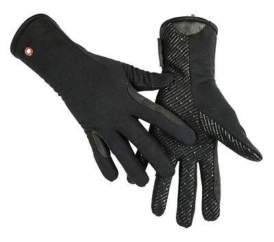 HKM PRO TEAM Riding Gloves - Professional Fleece & Silicone -