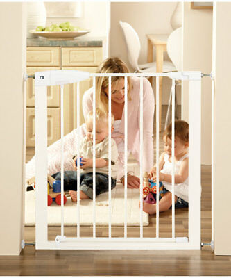 Mothercare Easy Close Metal Safety Gate - Available in SILVER ONLY