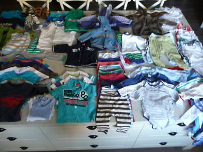 Bulk Lot (91 items) of Boys Size 0 Clothing (incl Sprout, Country Road & Bonds)