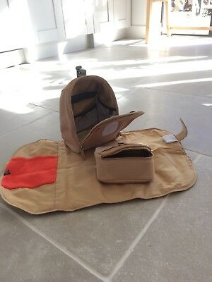 Pacapod Changer Pod and Mat in beige