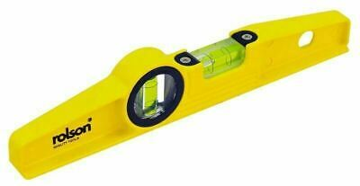 Boat Level Scaffolders Magnetic Metal 250mm Spirit Level 3 Magnets