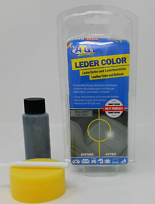 ATG lederbarbe Grey einziehfarbe Dye Real Leather Faux Leather Smooth Leather