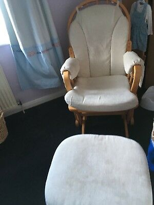 Nursing Chair And Foot Stall