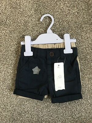 Baby Boy 3-6 Chino Shorts Two Pack